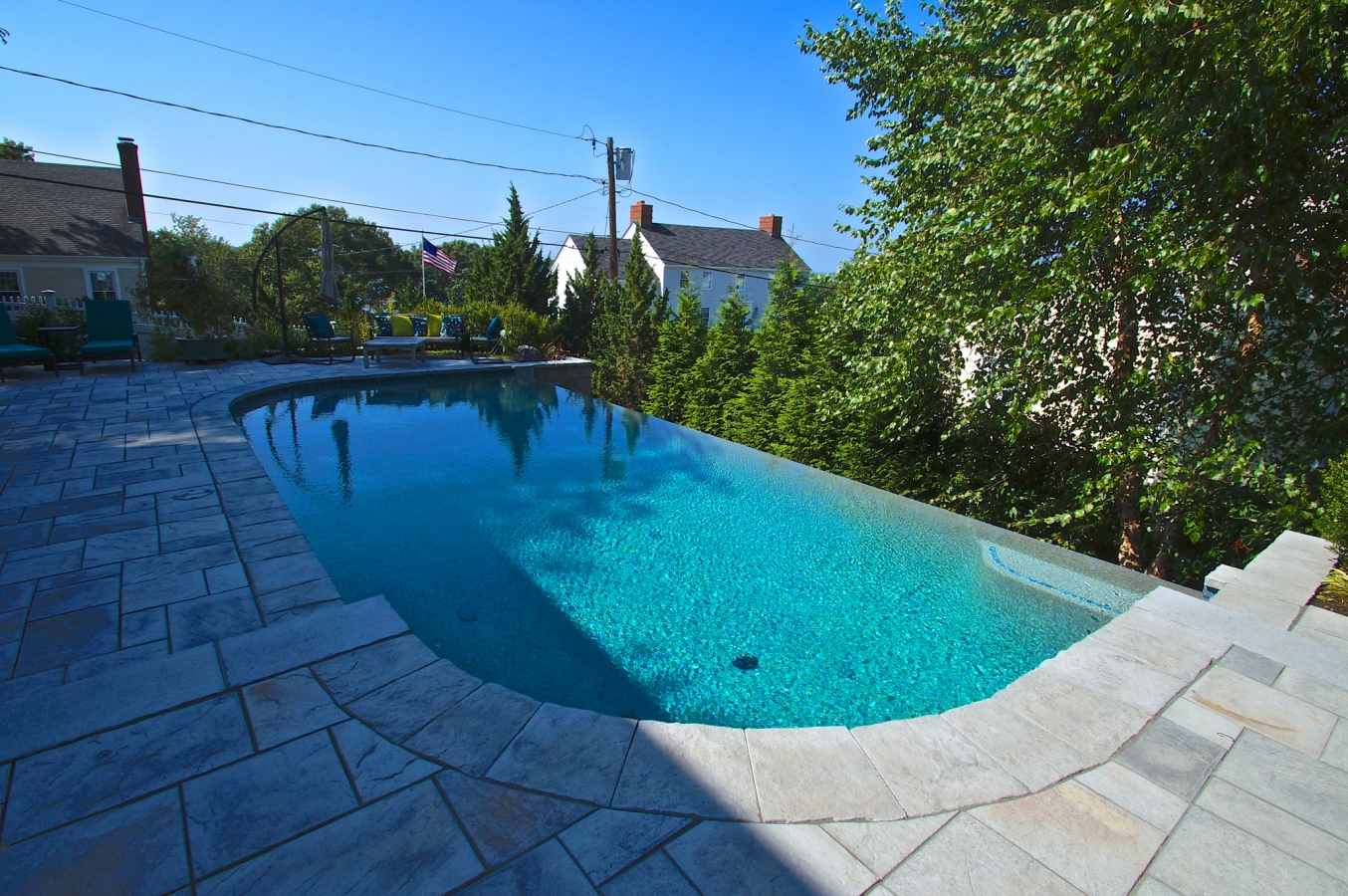 Residential gallery custom pools inc for Residential pools