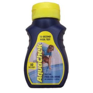 Aquachek Yellow 50 For Free Chlorine Custom Pools Inc